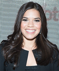 America Ferrera - Long Straight