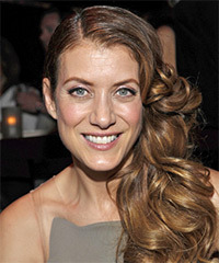 Kate Walsh - Half Up Long Curly