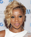 Mary J Blige Hairstyle