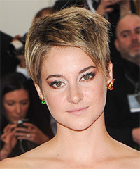 Shailene Woodley - Short Straight