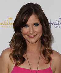 Kellie Martin Long Wavy Casual