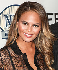 Christine Teigen Hairstyle