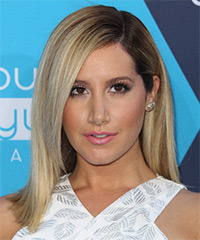 Ashley Tisdale Medium Straight Formal