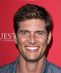 Ryan McPartlin - Short Straight Casual