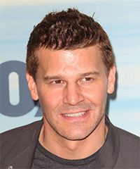 David Boreanaz - Short Straight Casual