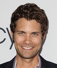 Drew Seeley - Short Curly Casual