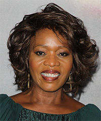 Alfre Woodard - Short Wavy