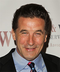 William Baldwin Short Straight Casual