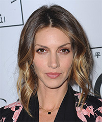 Dawn Olivieri Medium Wavy Casual