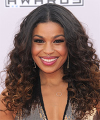 Jordin Sparks Long Curly Formal