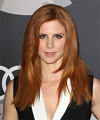 Sarah Rafferty - Long Straight