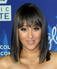 Tamera Mowry - Medium Straight