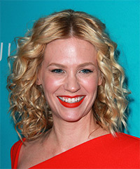 January Jones - Curly