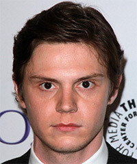 Evan Peters - Short Straight