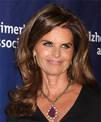 Maria Shriver - Long Straight