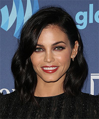 Jenna Dewan - Medium Wavy Hairstyle
