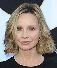 Calista Flockhart Medium Wavy Casual
