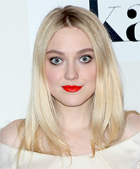Dakota Fanning - Long Straight