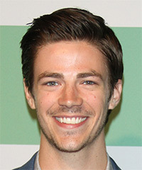 Grant Gustin - Short Straight