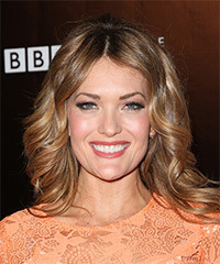 Amy Purdy Long Wavy Formal