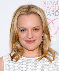 Elisabeth Moss - Medium Straight