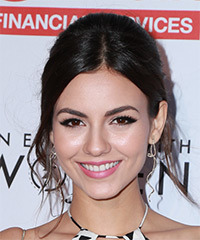 Victoria Justice Long Wavy Formal Wedding
