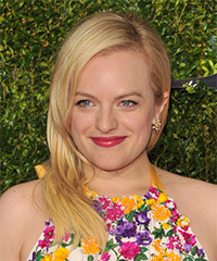 Elisabeth Moss - Long Straight