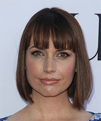 Julie Ann Emery Bob Hairstyle
