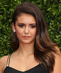 Nina-Dobrev - Long Straight