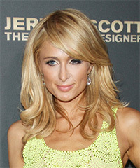 Paris Hilton Long Straight Formal