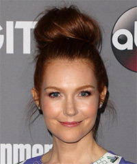 Darby Stanchfield - Long Wedding