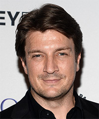 Nathan Fillion Hairstyles