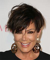 Kris Jenner's Short And Chic Stylish Hairstyle