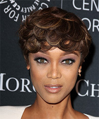 Tyra Banks - Short Straight