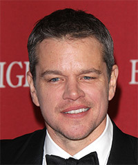 Matt Damon Hairstyles