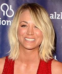 Kaley Cuoco's Straight Shoulder Length Bob