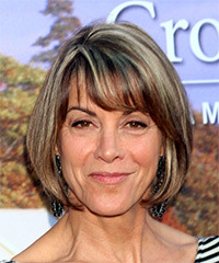Wendie Malick's Straight Shoulder Length Bob