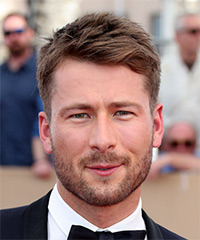 Glen Powell - Short Straight