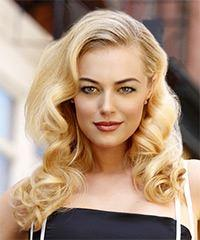 Long Curly Formal Vintage Hairstyle