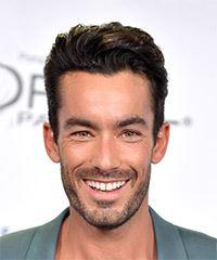 Aaron Diaz Short Straight Casual  - Dark Brunette