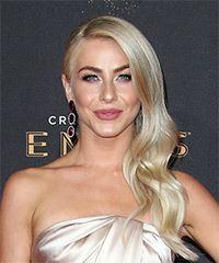 Julianne Hough's Long Wavy Side Swept Hairstyle