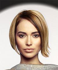 Short Straight Casual Bob
