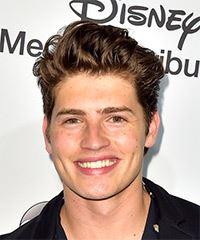 Gregg Sulkin Short Wavy Casual  - Medium Brunette
