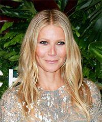 Gwyneth Paltrow Long Wavy Casual  - Light Blonde (Champagne)
