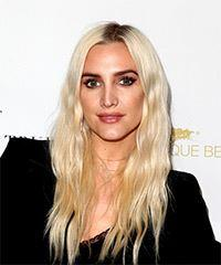 Ashlee Simpson Long Wavy Casual  - Light Blonde