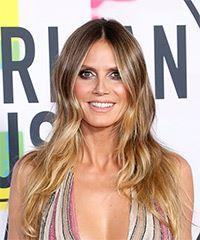 Heidi Klum Long Wavy Casual  - Medium Blonde