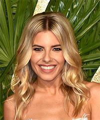 Mollie King Medium Wavy Casual Bob - Medium Blonde