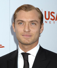 Jude Law Hairstyle - click to view hairstyle information
