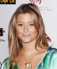 Holly Valance Long Straight Casual