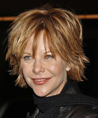 Meg Ryan Medium Straight Casual